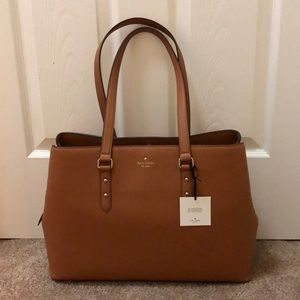 Kate Spade large brown tote bag